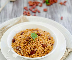 beans, Dominican Republic, and rice image