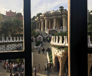 beautiful, Espagne, and parc guel image