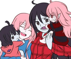 marceline, adventure time, and princess bubblegum image