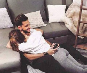 couple, love, and game image