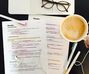 apple, coffee, and study image
