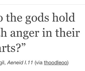 anger, gods, and heart image
