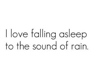 rain, quotes, and sleep image