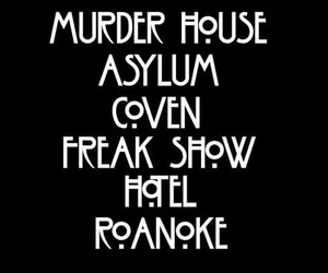 american, asylum, and freak show image