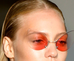 model, fashion, and glasses image