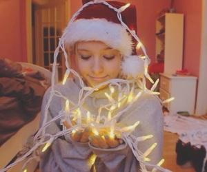 christmas, tumblr, and light image