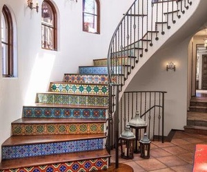 stairs, design, and home image