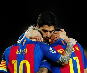 messi, suarez, and neymar image