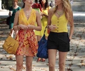 gossip girl, blair waldorf, and serena image