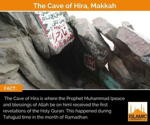 makkah, ramazan, and cave of hira image