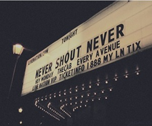 never shout never, hey monday, and nsn image
