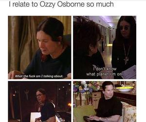 funny, lol, and Ozzy Osbourne image