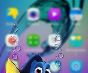 disney, dory, and wallpaper image