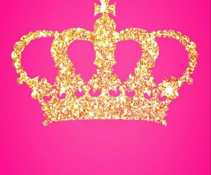 crown, gold, and glitter image