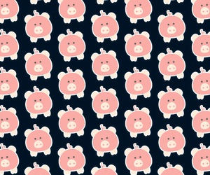 patterns, piggies, and pigs image