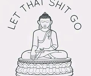 shit, Buddha, and quotes image