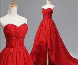 dress and red dress image