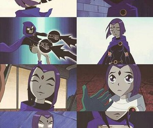 raven, teen titans, and DC image