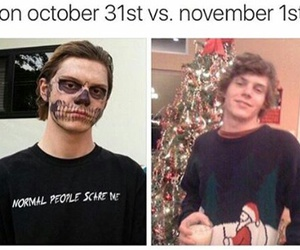 first, Halloween, and november image