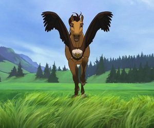eagle, freedom, and gallop image