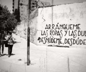 poesia, wall, and accion poetica image
