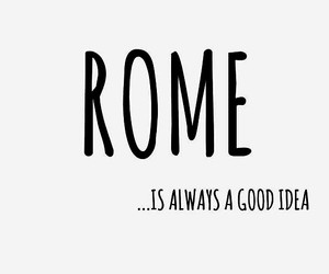 quote and rome image