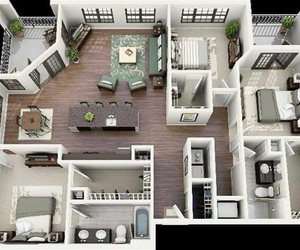 apartment, house, and floor plan image