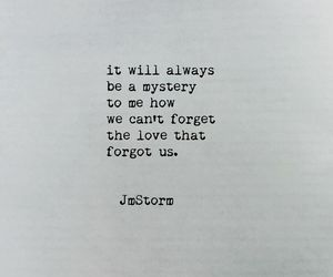 forget, love, and mystery image