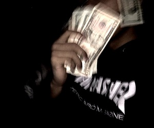 money, dark, and grunge image