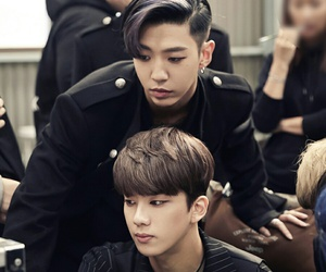 youngjae, b.a.p, and yongguk image