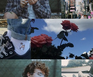 aesthetic, blue, and nyc image