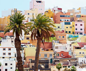 city, nice, and colors image