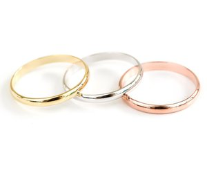gold rings, unique ring, and stretch rings image