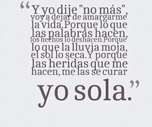 frases, yo, and sola image