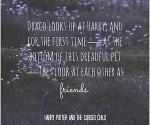 harry potter, quote, and drarry image