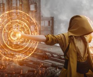 doctor strange, Marvel, and Tilda Swinton image
