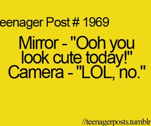lol, mirror, and camera image