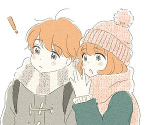 j, winter, and kawaii image