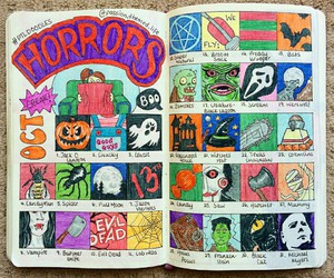 Halloween, horrors, and october image