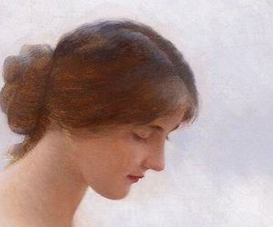 art, detail, and head image