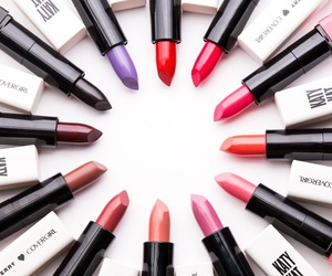 lipstick, makeup, and colors image