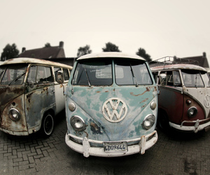 car, hipster, and old image