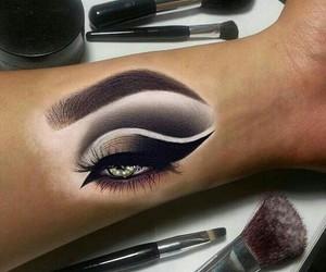 arm, make up, and art image