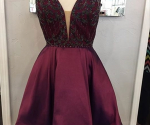 evening dress, Prom, and formal dress image