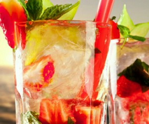 cocktail, cool, and refreshing image