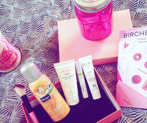 cocooning, pink, and birchbox image