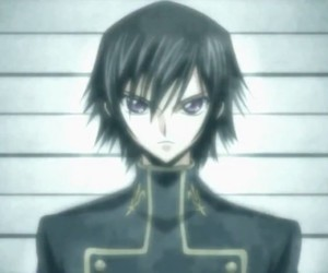 code geass, lelouch, and zero image