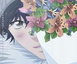 flowers, manga, and ao haru ride image