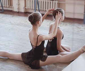 ballerina, ballet, and flexibel image