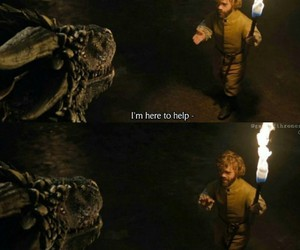 tyrion lannister, got, and game of thrones image